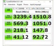 Opinia o Samsung 250GB 970 EVO M.2 2280 NVMe