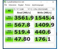 Test Samsung 250GB 970 EVO M.2 2280 NVMe