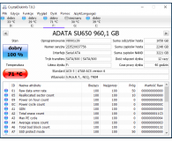 "Test ADATA 960GB 2,5"" SATA SSD Ultimate SU650"