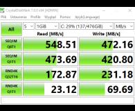 "Test Silicon Power 512GB 2,5"" SATA SSD A55"