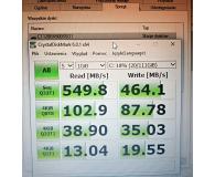 "Test Crucial 120GB 2,5"" SATA SSD BX500"