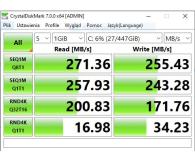 "Test Crucial 480GB 2,5"" SATA SSD BX500"