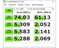 Test SanDisk 128GB microSDXC Ultra 80MB/s C10 UHS-I