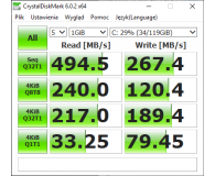 "Test GOODRAM 128GB 2,5"" SATA SSD CX400"