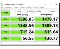 Test Crucial 1TB M.2 PCIe NVMe P1