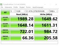 Opinia o Crucial 1TB M.2 PCIe NVMe P1