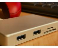 Test Unitek HUB USB-C - 3x USB 3.0 + czytnik kart + PD