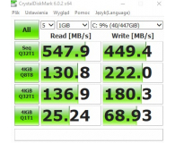 "Test GOODRAM 480GB 2,5"" SATA SSD CL100"