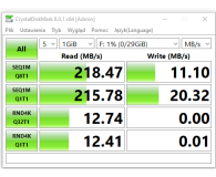 Test Patriot 32GB Supersonic Rage 180MB/s (USB 3.0)