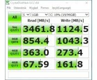 Test ADATA 256GB M.2 PCIe XPG SX8200 Pro