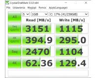 Opinia o ADATA 256GB M.2 PCIe XPG SX8200 Pro