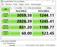 ADATA 256GB M.2 PCIe NVMe XPG SX8200 Pro (2021) - Armo11