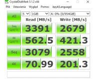 ADATA 1TB M.2 PCIe NVMe XPG SX8200 Pro (2021) - Michał