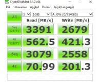 Recenzja ADATA 1TB M.2 PCIe NVMe XPG SX8200 Pro