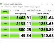 Test Corsair 240GB M.2 PCIe NVMe Force MP510