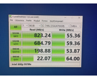 Test Intel 512GB M.2 PCIe NVMe 660p Series