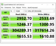 ADATA 1TB M.2 PCIe NVMe XPG GAMMIX S11 Pro  - Jacek
