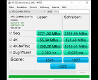 Test ADATA 1TB M.2 PCIe NVMe XPG GAMMIX S11 Pro