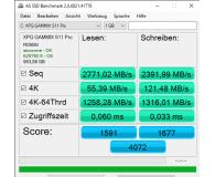 Opinia o ADATA 1TB M.2 PCIe NVMe XPG GAMMIX S11 Pro