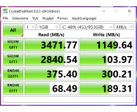 ADATA 1TB M.2 PCIe NVMe XPG GAMMIX S11 Pro  - Szumixx.
