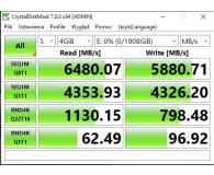 ADATA 1TB M.2 PCIe NVMe XPG GAMMIX S11 Pro  - BartoszW