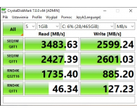 WD 500GB M.2 PCIe NVMe Black SN750 - Mati