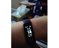 Test Honor Band 4 granatowy