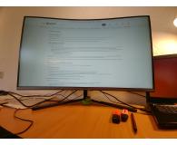 Test Samsung U32R590CWUX Curved 4K