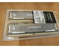 Opinia o Crucial 16GB (2x8GB) 3000MHz CL15 Ballistix Sport LT Gray