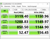 Opinia o PNY 250GB M.2 PCIe NVMe XLR8 CS3030