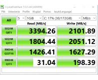 Opinia o PNY 500GB M.2 PCIe NVMe XLR8 CS3030