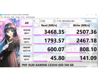 PNY 1TB M.2 PCIe NVMe XLR8 CS3030  - Jakub