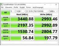 Recenzja PNY 1TB M.2 PCIe NVMe XLR8 CS3030
