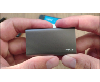 Test PNY Elite Portable SSD 480GB USB 3.0
