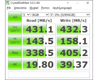 Test PNY Elite Portable SSD 960GB USB 3.0