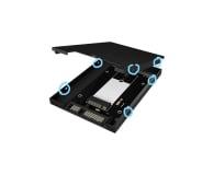 "Test ICY BOX Adapter do dysku M.2 SATA na 2.5"" SSD"