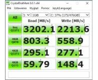 Opinia o ADATA 512GB M.2 PCIe XPG SPECTRIX S40G RGB