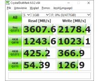 Opinia o ADATA 512GB M.2 PCIe NVMe XPG SPECTRIX S40G RGB