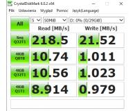 Test Toshiba 32GB U303 biały USB 3.0 OEM