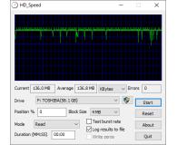 Test Toshiba 64GB U303 biały USB 3.0 OEM