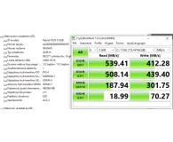 "Test Patriot 512GB 2,5"" SATA SSD P200"