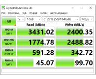 Silicon Power 512GB M.2 PCIe NVMe A80 - Bartek