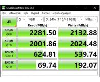 Kingston 1TB M.2 PCIe NVMe A2000 - Szpon