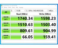 Test Kingston 500GB M.2 PCIe NVMe A2000