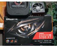 Opinia o Gigabyte Radeon RX 5700 XT Gaming OC 8GB GDDR6