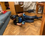 Test HTC VIVE Cosmos