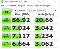 Test Kingston 64GB microSDXC Canvas Select Plus 100MB/s