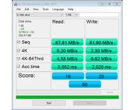 Test Kingston 256GB microSDXC Canvas Select Plus 100MB/85MB/s