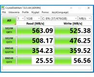 """Recenzja Plextor 512GB 2,5"""" SATA SSD M8VC"""