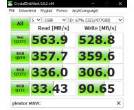 """Opinia o Plextor 512GB 2,5"""" SATA SSD M8VC"""
